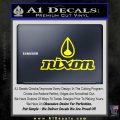 Nixon Snowboard Decal Sticker Full Yellow Laptop 120x120