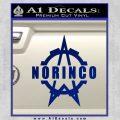 Norinco Firearms Decal Sticker D1 Blue Vinyl 120x120