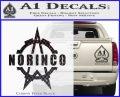 Norinco Firearms Decal Sticker D1 Carbon FIber Black Vinyl 120x97