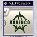 Norinco Firearms Decal Sticker D1 Dark Green Vinyl 120x120