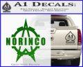 Norinco Firearms Decal Sticker D1 Green Vinyl Logo 120x97