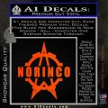 Norinco Firearms Decal Sticker D1 Orange Emblem 120x120