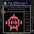 Norinco Firearms Decal Sticker D1 Pink Emblem 120x120