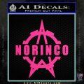 Norinco Firearms Decal Sticker D1 Pink Hot Vinyl 120x120