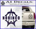 Norinco Firearms Decal Sticker D1 PurpleEmblem Logo 120x97