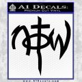 Not Of This World DS Decal Sticker Black Vinyl 120x120