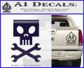 Planes Dusty Skull Wrenches Decal Sticker PurpleEmblem Logo 120x97