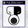 Tech N9ne Decal Sticker Black Vinyl Black 120x120