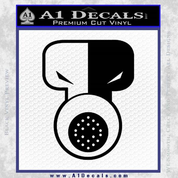 Tech N9ne Decal Sticker Black Vinyl Black