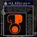 Tech N9ne Decal Sticker Orange Emblem Black 120x120
