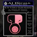 Tech N9ne Decal Sticker Soft Pink Emblem Black 120x120
