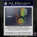 Tech N9ne Decal Sticker Spectrum Vinyl Black 120x120