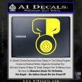 Tech N9ne Decal Sticker Yellow Vinyl Black 120x120