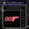 007 PPK James Bond Walther Decal Sticker D2 Pink Emblem 120x120