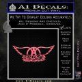 Aerosmith Decal Sticker Pink Emblem 120x120