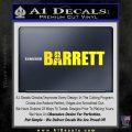 Barrett Decal Sticker WideA Yellow Laptop 120x120