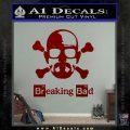 Breaking Bad Crossbones Decal Sticker DRD Vinyl 120x120
