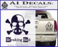Breaking Bad Crossbones Decal Sticker PurpleEmblem Logo 120x97