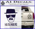 Breaking Bad Heisenberg Decal Sticker PurpleEmblem Logo 120x97