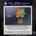 Breaking Bad Walter White Decal Sticker Glitter Sparkle 120x120