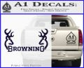 Browning Decal Sticker D2 PurpleEmblem Logo 120x97