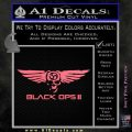 Call Of Duty Black Ops 2 Skull Wings Decal Sticker Pink Emblem 120x120