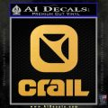 Crail Speed Trucks Decal Sticker Full Gold Vinyl 120x120