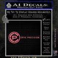 Crye Precision Decal Sticker Pink Emblem 120x120
