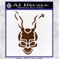 Donnie Darko Frank Decal Sticker BROWN Vinyl 120x120