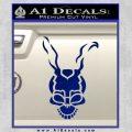Donnie Darko Frank Decal Sticker Blue Vinyl 120x120