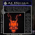 Donnie Darko Frank Decal Sticker Orange Emblem 120x120
