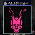 Donnie Darko Frank Decal Sticker Pink Hot Vinyl 120x120
