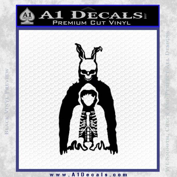Donnie Darko Watched Over Frank Decal Sticker Black Vinyl