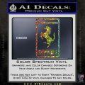 FERRARI Emblem Logo D3 Decal Sticker Glitter Sparkle 120x120