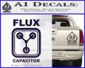 Flux Capacitor Decal Sticker PurpleEmblem Logo 120x97