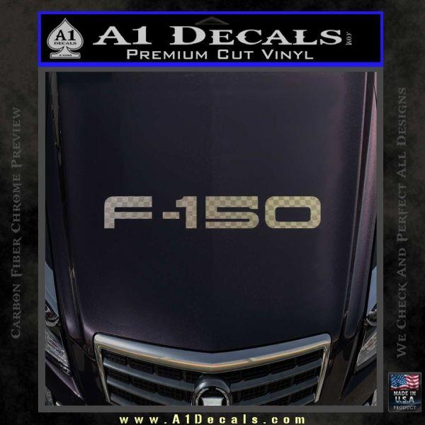 Ford F 150 Decal Sticker Carbon FIber Chrome Vinyl