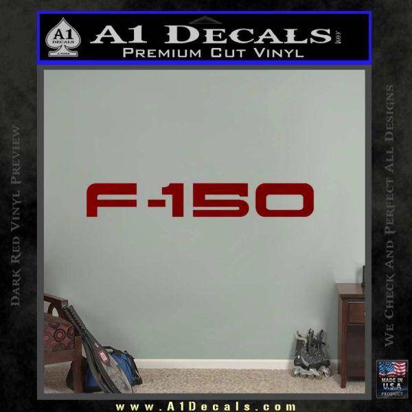 Ford F 150 Decal Sticker DRD Vinyl