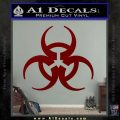 Futuristic Biohazard Decal Sticker D1 DRD Vinyl 120x120