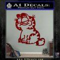 Garfield Decal Sticker Sitting DRD Vinyl 120x120