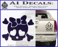 Heart Skull Cross and Crossbones Decal Sticker D2 PurpleEmblem Logo 120x97