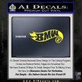 Hot Wheels Bmw D1 Decal Sticker Yellow Vinyl Black 120x120