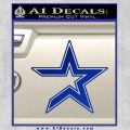 Houston Astros Decal Sticker Blue Vinyl Black 120x120