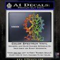 Imi Firearms Decal Sticker Glitter Sparkle 120x120