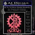 Imi Firearms Decal Sticker Pink Emblem 120x120