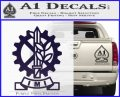 Imi Firearms Decal Sticker PurpleEmblem Logo 120x97