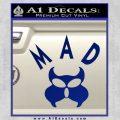 MAD Inspector Gadget Decal Sticker Blue Vinyl 120x120