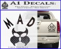 MAD Inspector Gadget Decal Sticker Carbon FIber Black Vinyl 120x97