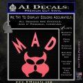 MAD Inspector Gadget Decal Sticker Pink Emblem 120x120