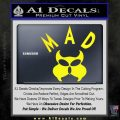MAD Inspector Gadget Decal Sticker Yellow Laptop 120x120
