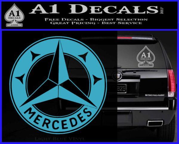 Mercedes benz c3 decal sticker a1 decals for Mercedes benz decal